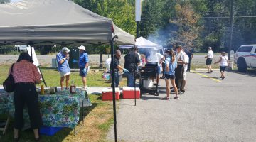 Photo Credit: Drew Hosick - OPP Charity BBQ for Friends of the North Grenville Library
