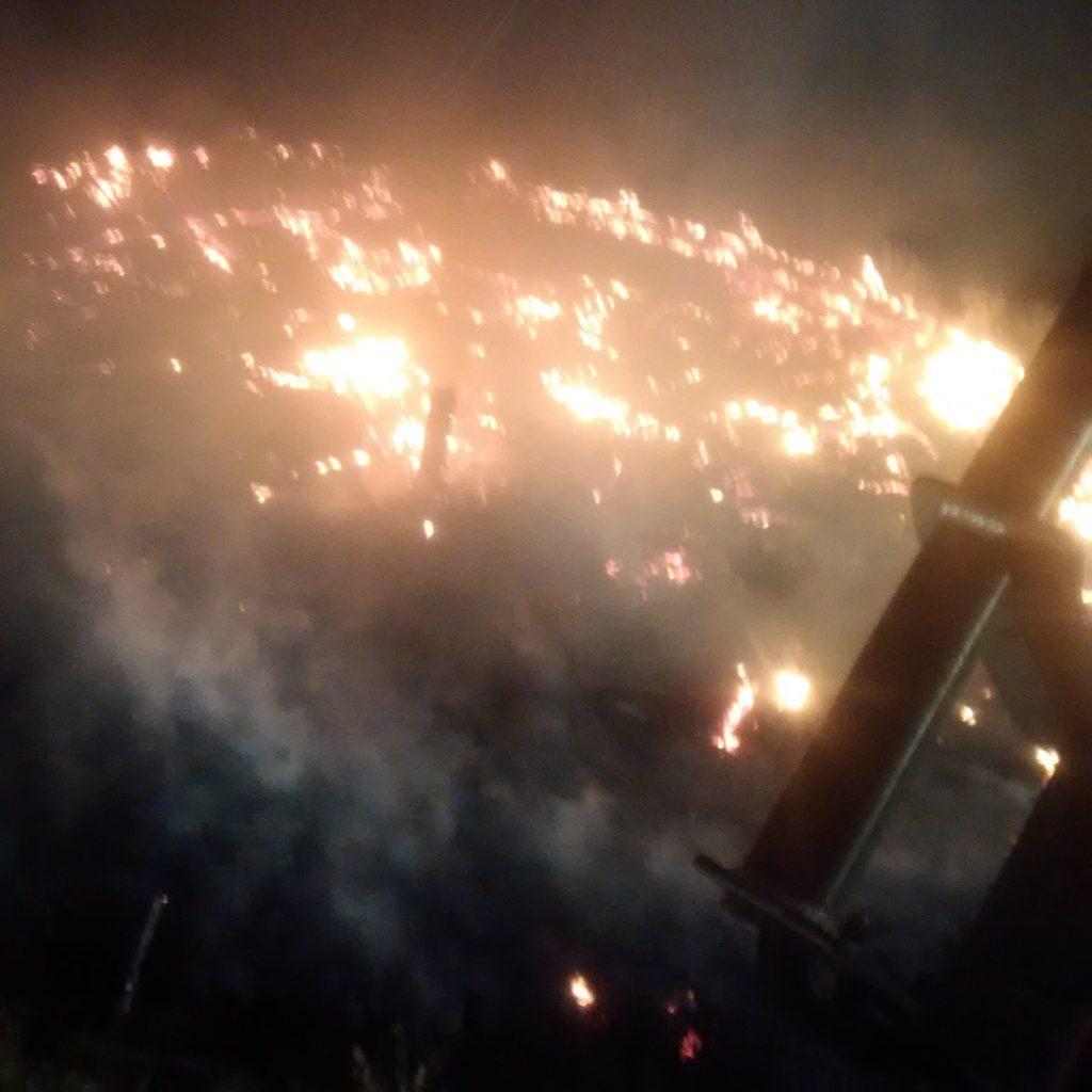 Photo Credit: Paul Hutt - Structure Fire of Dome on Van Buren Street