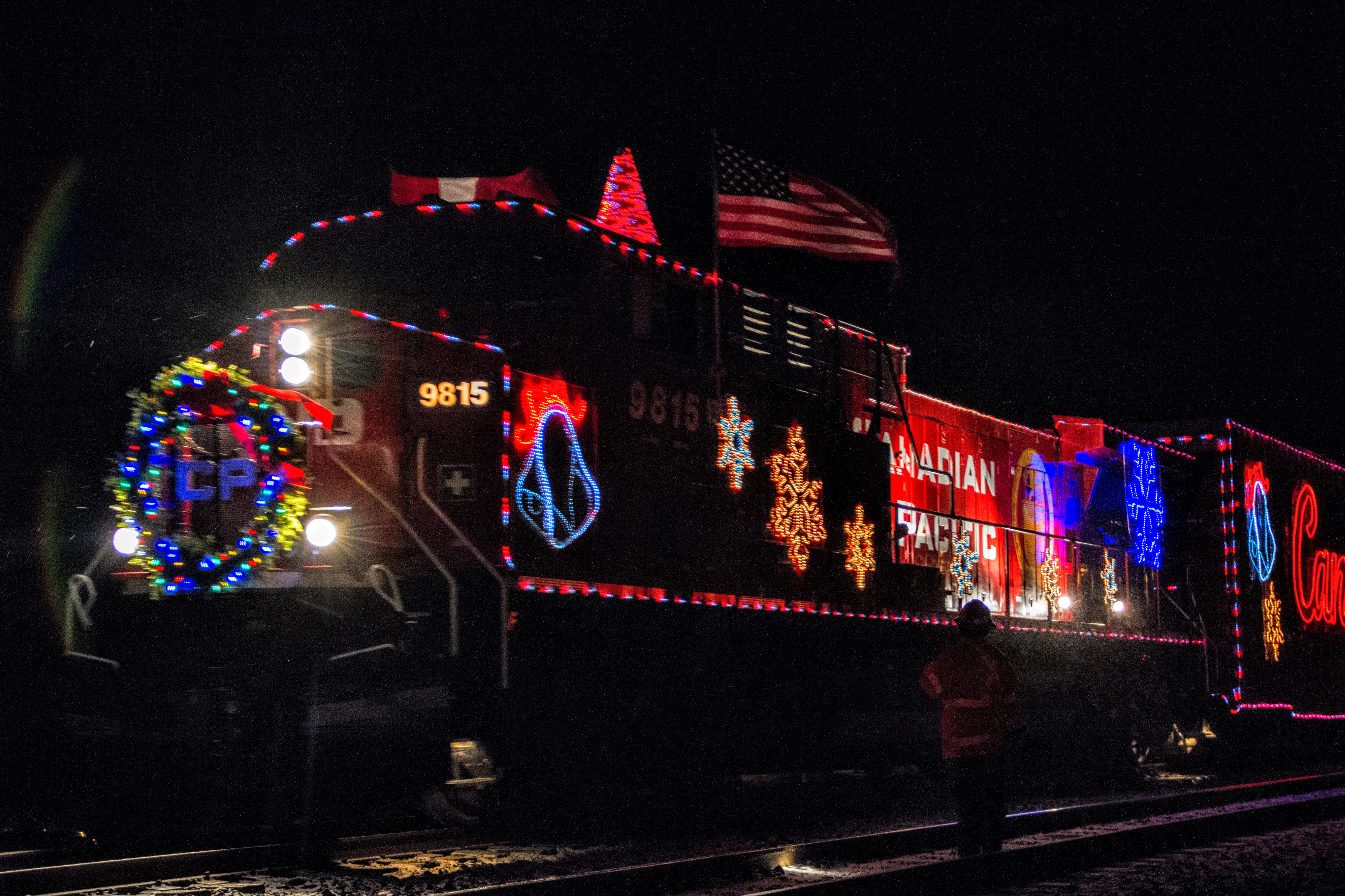 Cp Christmas Train Schedule 2019 CP Holiday Train Stopping In Merrickville   My Kemptville Now