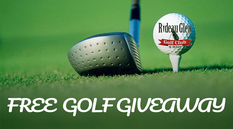 Free golf clubs giveaway